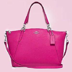 Coach NWT Hot Pink Satchel/Crossbody Bag